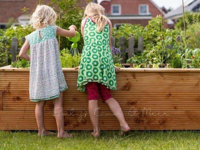 Familienprojekte, Hochbeet bauen