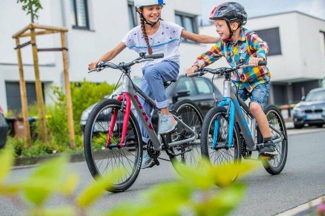 Fahrräder für Kinder, Schulweg, City-Bike