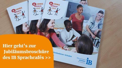 Download der Broschüre IB Sprachcafé